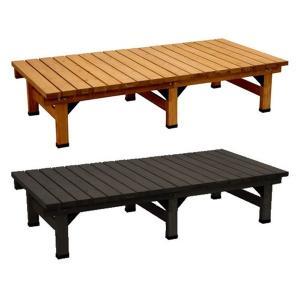 デッキ縁台180×90 縁台 ウッドデッキ デッキ縁台 縁側 ガーデンベンチ 踏み台 腰掛け ステップ 長椅子 木製 屋外 室内 おしゃれ|logical-japan