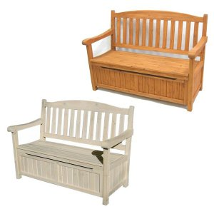 ガーデン収納庫付ベンチ120 ガーデンベンチ ベンチ 長椅子 長イス ベンチチェア  ガーデンチェアー ベンチ収納 収納ベンチ 収納付きベンチ  木製  屋外|logical-japan