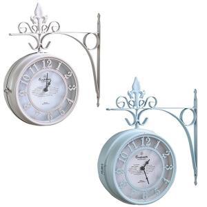 OLD STREET BOTHSIDE CLOCK 壁掛け時計 壁掛時計 掛け時計 掛時計 ウォールクロック 壁時計 アナログ時計 両面時計 おしゃれ かわいい|logical-japan