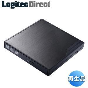 外付けDVDドライブ ポータブル USB ブラック ソフトな...