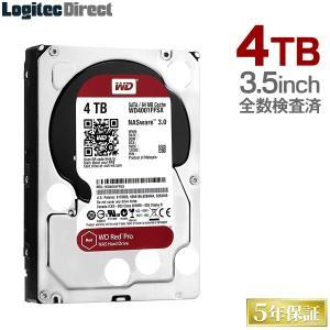 内蔵HDD 4TB WD Red Pro 3.5インチ 内蔵ハードディスク 全数検査済 保証・移行ソ...