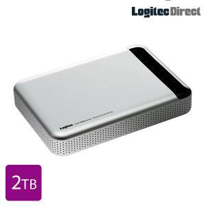 外付けHDD ポータブル 2TB USB3.0 耐衝撃 Mac用 日本製 ロジテック LHD-PBM20U3MSV|logitec