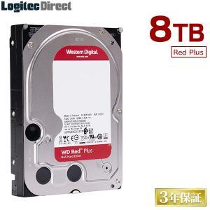 内蔵HDD 8TB WD Red WD80EFAX 3.5インチ 内蔵ハードディスク ロジテックの保...