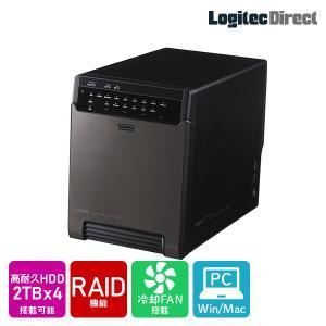 外付けHDD 4BAYケース + WD Red Pro 2TB × 4台 大容量ストレージ 納期別途...