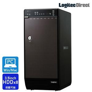 LHR-8BNHEU3 ガチャベイシリーズ 8BAY外付型3.5インチハードディスクケースWEB限定品 hddケース