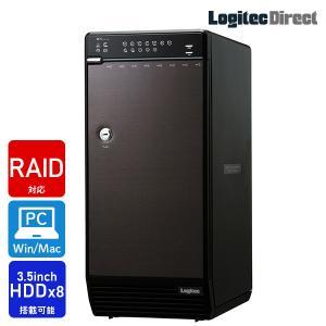 Windows10対応 LHR-8BRHEU3 ガチャベイシリーズ 8BAY外付型RAID機能搭載3.5インチハードディスクケースWEB限定品 hddケース