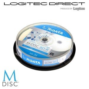 M-DISC BD-R(10枚)写真・映像・思い出、大切なデータを1000年保存可能なブルーレイディスク M-BDR25GBPW10SP M-BDR25GB.PW10SP