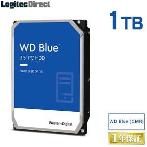 内蔵HDD 1TB WD Blue WD10EZRZ 3.5インチ 内蔵ハードディスク ロジテックの...