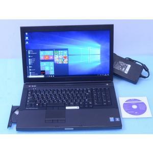 ★仕様 メーカー :DELL / デル 型番 :Precision M6800 モバイルワークステー...