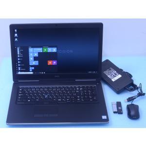 ★仕様 メーカー :DELL / デル 型番 :Precision 7720 モバイルワークステーシ...
