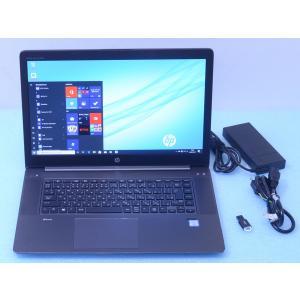 HP ZBook Studio G3 美品 Xeon E3-1505M v5 2.8GHz 32GB...