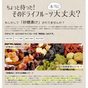 ポイント消化 ドライフルーツ ミックス 砂糖不使用 無添加 4種 250g|lohasshop|06