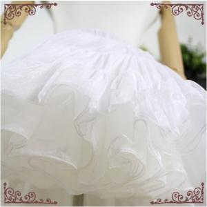 通年 ロリータドレスパニエ 予約販売 ボリュームアップ アンダースカート フリル ふりふり 膝丈スカート 甘ロリ ゴスロリ 白ロリ|loliloli