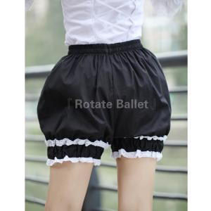 ロリータ Rotate Ballet フリルかぼちゃパンツ 提灯パンツ インナー ボトム 甘ロリ ゴスロリ|loliloli