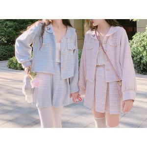 31593064533e52 ロリータ 甘ロリ スカート スカートのみ ジャケット別売り 春夏 お揃いコーデ 双子コーデ 友達 オソロ 普段着