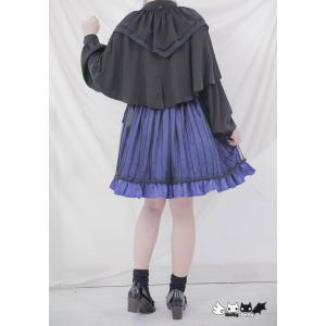 Dolly Delly ロリータ チュール付きスカート スカートのみ リボン 鳥かごスカート フレアスカート ゴスロリ クラロリ|loliloli