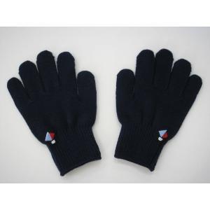 子供用手袋 こども手袋 キッズ手袋(ヨット刺繍入り)の画像