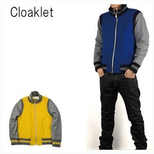 Cloaklet クロークレット リブジャケット RIB JACKET|london-game