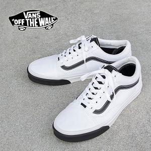 VANS バンズ OLD SKOOL オールドスクール ローカットスニーカー WHITE / BLACK VN0A38G1VOY|london-game