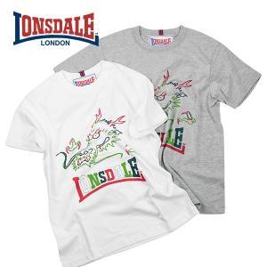 ドラゴンプリントTシャツ ロンズデール LONSDALE|london-game