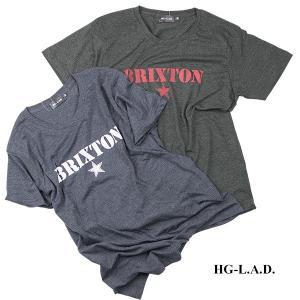 HG 半袖Tシャツ BRIXTON|london-game