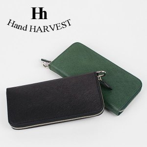 長財布 本革 レザーウォレット LEATHER LONG WALLET HARVEST|london-game