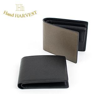 二つ折り財布 本革 レザーウォレット ハーヴェスト HARVEST|london-game