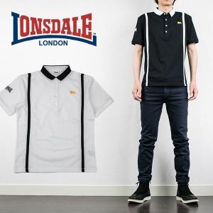 クールマックスポロシャツ LINED POLO ロンズデール LONSDALE|london-game