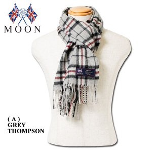 MOON メリノ ラムウールマフラー MERINO LAMBSWOOL SCARF|london-game