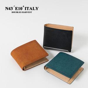 二つ折り財布 本革 イタリアンレザーウォレット ITALIAN LEATHER WALLET HARVEST|london-game