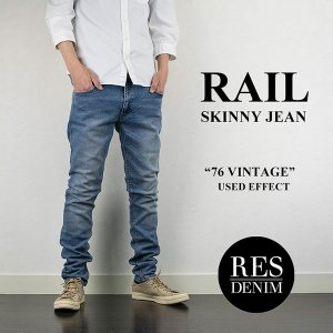 RAIL スキニージーンズ 76 VINTAGE レスデニム RES DENIM london-game