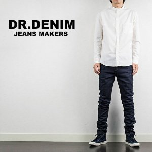 スキニージーンズ DR DENIM ドクターデニム SNAP SKINNY DENIM UNWASHED BLUE|london-game