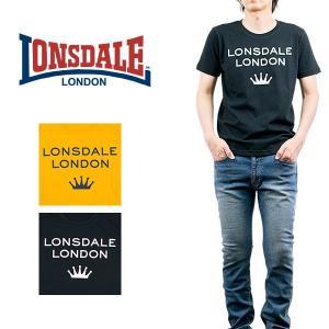 ロゴプリントTシャツ LONSDALE ロンズデール|london-game