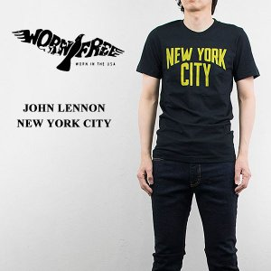 WORN FREE ウォーンフリー ロックTシャツ ROCK Tsh JOHN LENNON NYC|london-game