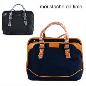 ビジネストート ブリーフケース BRIEF CASE ムスタッシュ moustache on time|london-game