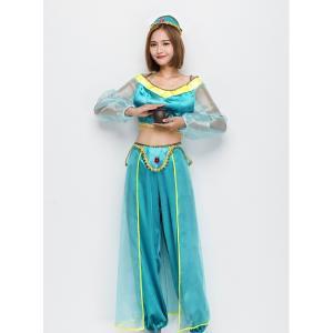 アラジンのジャスミン風の衣装です!  これからの時期、ディズニーハロウィンイベントやパーティーなどに...