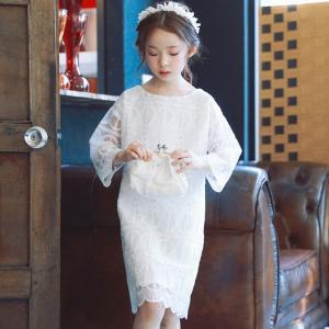 子ども服 シューズ 子ども服 フォーマル ドレス スーツ ドレス 韓国子供服 キッズ ホワイト レース ワンピース プリンセス ドレス カジュアル ベーシック londonbridge