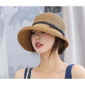 帽子 麦わら帽子 レディース UVケア 紫外線対策 暑さ対策 日焼け防止 春 夏 londonbridge