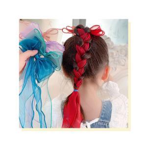 韓国キッズ★大きいリボン クリップ 3点セット 髪飾り londonbridge