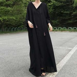 ワンピース レディース ロングワンピ マキシ丈 サマードレス 大きいサイズ マタニティ 韓国ファッション londonbridge