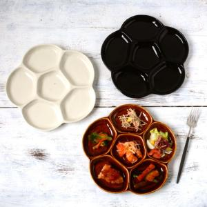 ランチプレート おしゃれ お皿 皿 食器 プレート 陶器 美濃焼 可愛い 日本製 前菜の盛り合わせ ...
