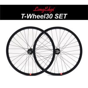 ロングエッヂ トラックホイールセット【LE 30mm track wheel set】ピストバイク ...
