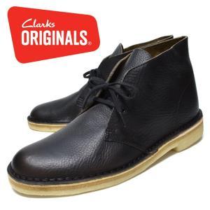 CLARKS クラークス デザートブーツ 靴 メンズ カーキ レザー longpshoe