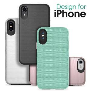 iPhone XS Max iPhoneX XS ケース 8 7 Plus アイフォン はめ込み 頑丈 耐衝撃 2重構造 TPU PC|looco-shop
