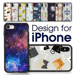 iPhone XS X 8 7 ケース カバー かわいい おしゃれ アイフォン ストラップ 衝撃 軽い 落下 防止|looco-shop
