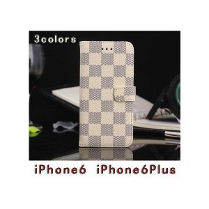 iphone6plus 6splus ケース レザー 手帳型...