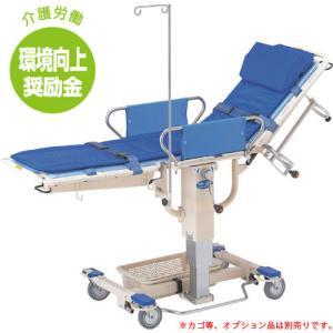 【2%OFFクーポン!8/26まで】ストレッチャー キャスター付き 昇降式 病院 HS-250|lookit