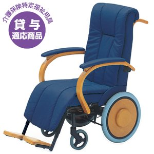 【2%OFFクーポン配布8/15〜8/20まで】車椅子 木製 介護式 老人ホーム 福祉施設 MK-200|lookit