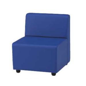 法人限定 ロビーチェア 1人掛け 1人用 ビニールレザー張り シングルソファ シングルチェア 椅子 ...