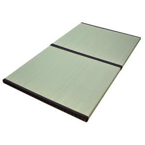 畳 マット 2枚敷 置き畳 ユニット畳 ユニット 畳 畳ベッド 畳マット 防ダニ 防虫 防湿 チェンジタタミSD|lookit